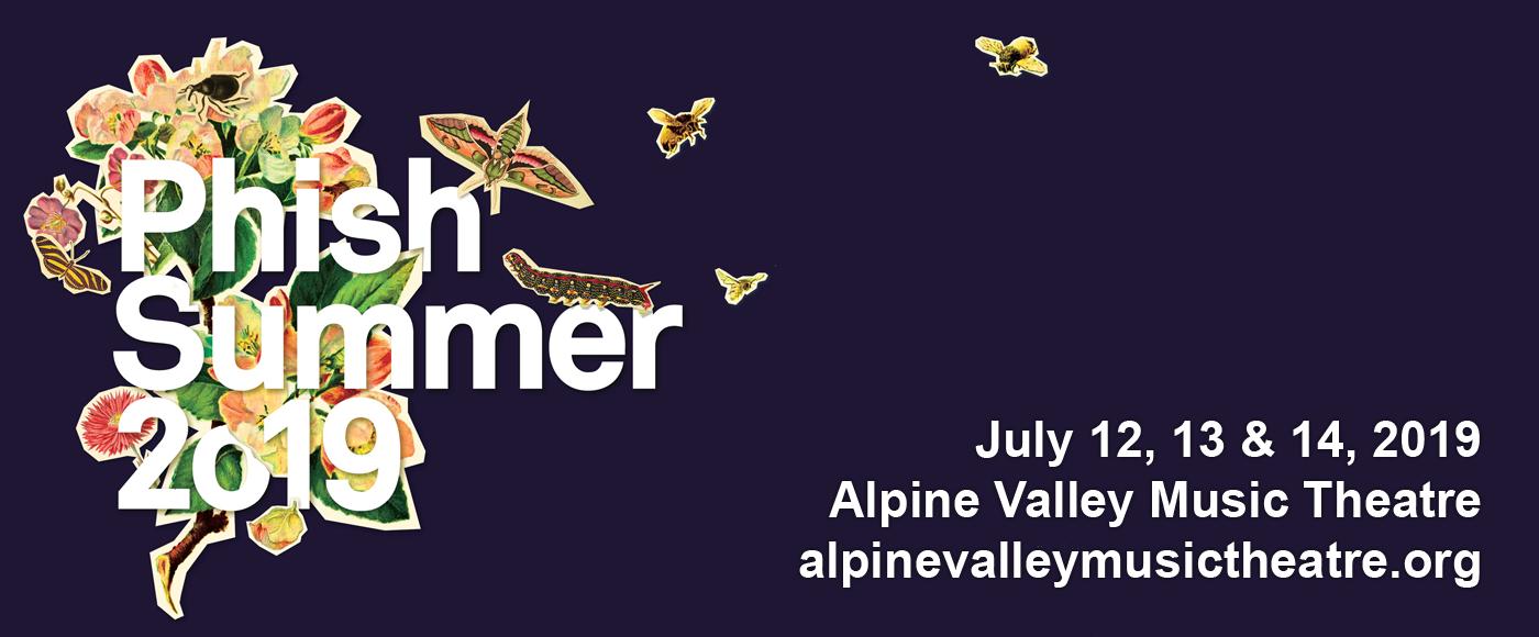 Phish at Alpine Valley Music Theatre