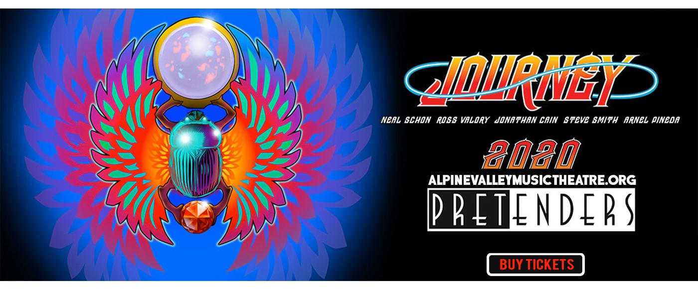 Journey & The Pretenders at Alpine Valley Music Theatre