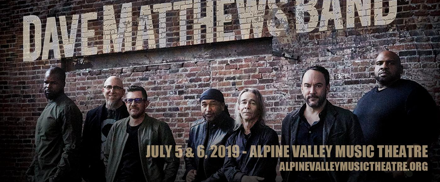 Dave Matthews Band at Alpine Valley Music Theatre